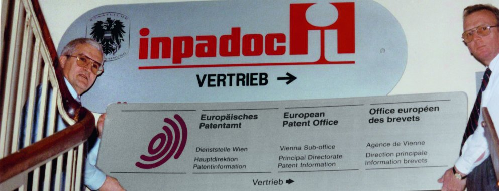 1991 changing the inpadoc sign to an EPO sign