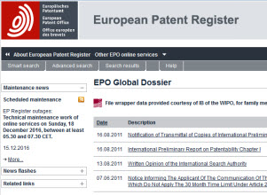 2014 EPO and SIPO launch first Global Dossier service