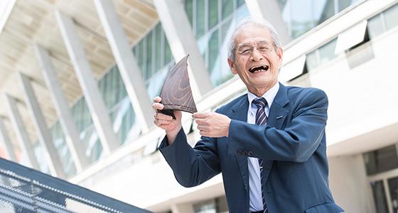 Akira Yoshino, winner of the European Inventor Award 2019